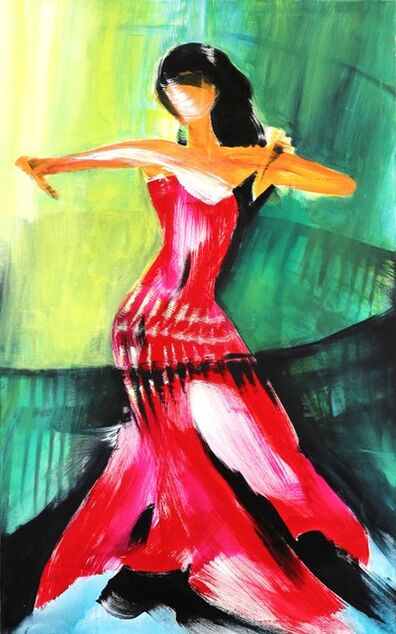 Bettina Mauel, 'Dancer In Red', 2012