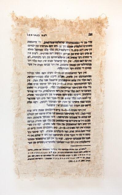 Lisa Kokin, 'Das Kapital (page 226)', 2013