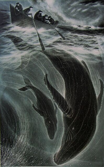 David Blackwood, 'Loss of the Flora S. Nickerson ', 1993