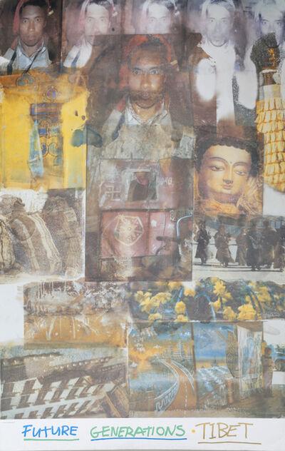 Robert Rauschenberg, 'Future Generations Tibet', 1996
