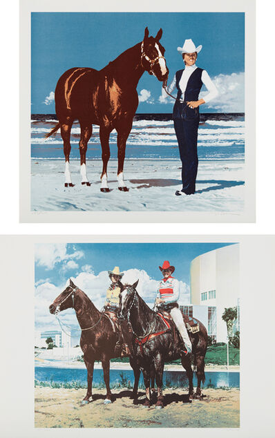 Richard McLean, 'Dixie Coast; and Diamond Tinker and Jet Tex', 1980