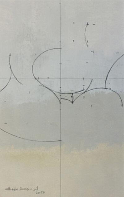 "Alberto Romero, '""Geometría de huevos blancos""', 2017"