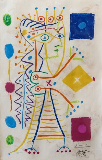 Pablo Picasso, 'White Jacqueline', 1958