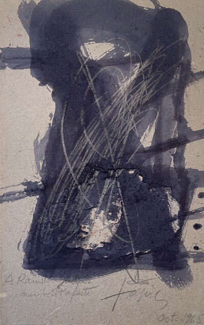Antoni Tàpies, 'Untitled', 1965