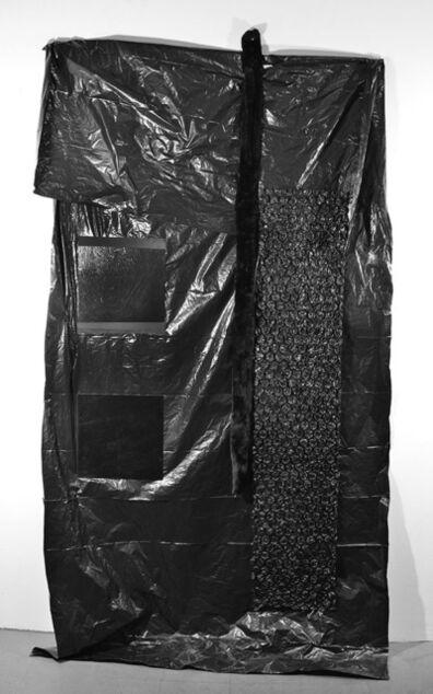 Dominique Duroseau, 'Settlement boundaries, considered [Black on Black on Black with Black series]', 2019 -2020
