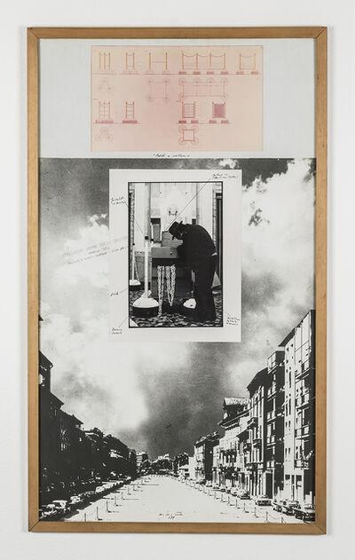 """Ugo La Pietra, 'Serie """"Paletti e catene""""', 1979"""