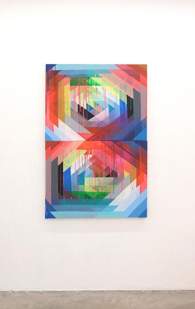 Maya Hayuk, 'DNA Pivot', 2019