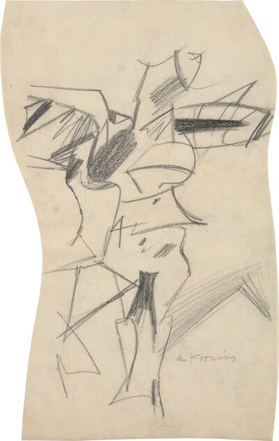 Willem de Kooning, 'Study for a Woman', 1953