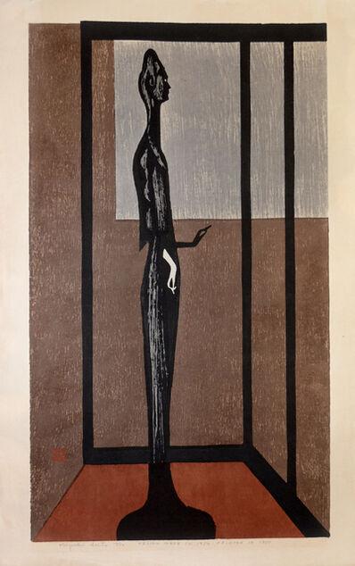 Kiyoshi Saito, 'Statue of Asuka', Designed 1954. Printed in 1955