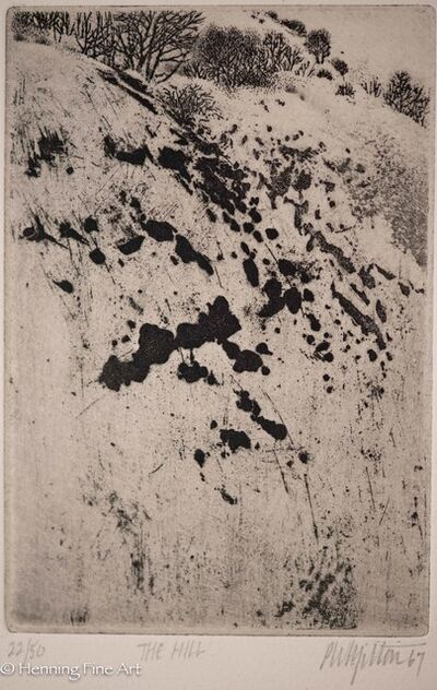 Peter Milton, 'The Hill', 1967