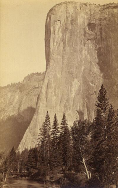 Carleton E. Watkins, 'El Capitan, 3300 feet., YOSEMITE, California', mid-1880s