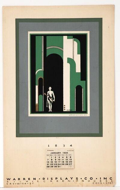 Mark Freeman, 'Calendar, Warren Display Co Inc.', 1934