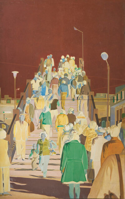 Hwang  Buh-Ching, 'Footbridge', 1976
