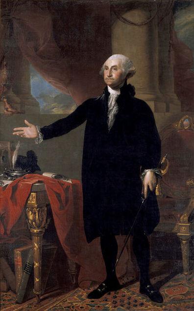 Gilbert Stuart, 'George Washington', 1797