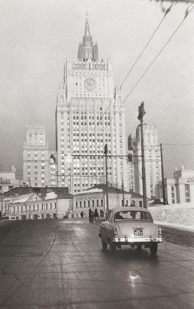 Leonid Nikolaevich Lazarev, 'City road in winter', 1959