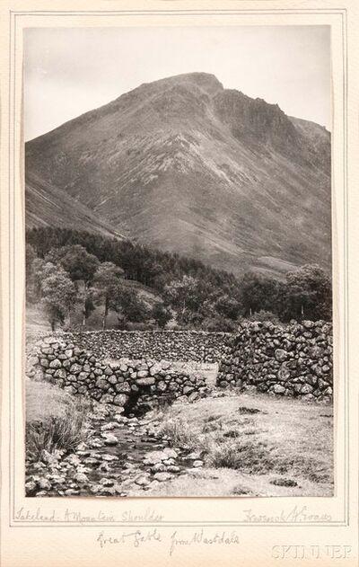 Frederick Henry Evans, 'Lakeland: A Mountain Shoulder', c. 1910
