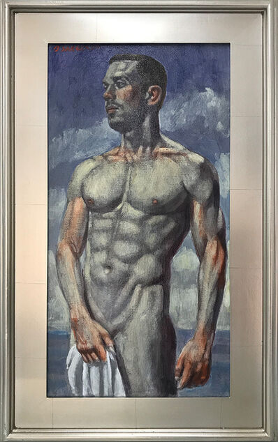 Mark Beard, '[Bruce Sargeant (1898-1938)] Man with Towel', n.d.