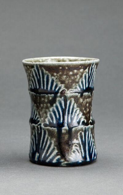 Tomoo Hamada, 'Cup, salt glaze'