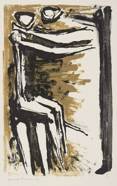 Kenneth Armitage, 'Two Figures', 1953
