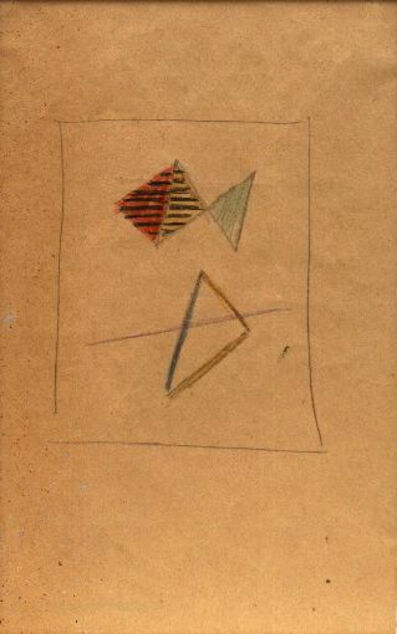 Friedrich Vordemberge-Gildewart, 'Study for Composition No. 144 (D66)', c. 1943