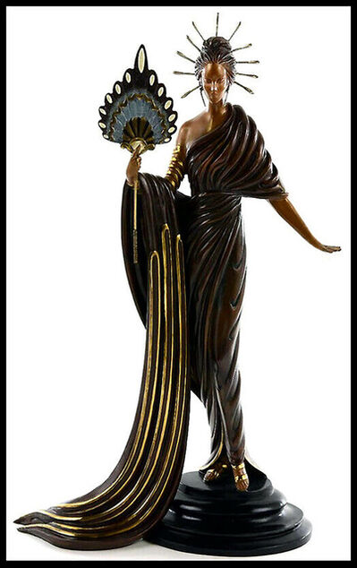 Erté (Romain de Tirtoff), 'ERTE Signed BRONZE Sculpture APHRODITE Original ART DECO Rare ', 20th Century