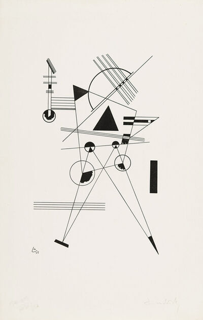 Wassily Kandinsky, 'Lithography No. 1', 1925