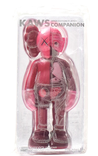KAWS, 'COMPANION BLUSH (Flayed)', 2017
