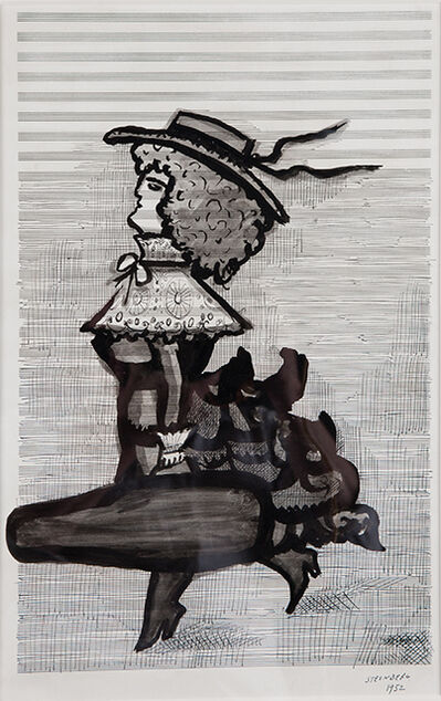 Saul Steinberg, 'Untitled', 1952