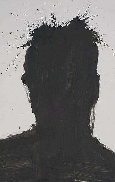 Richard Hambleton, 'Shadow Head Portrait', 2003