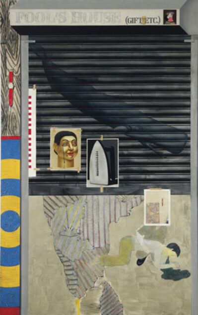 Atul Dodiya, 'Fool's House', 2008-2009
