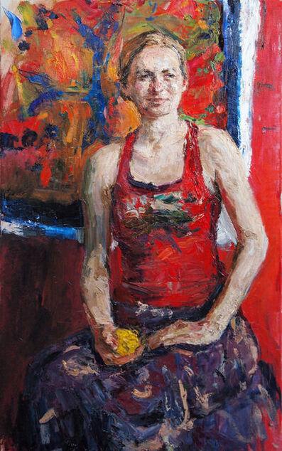 Ulrich Gleiter, 'Red Portrait', 2015
