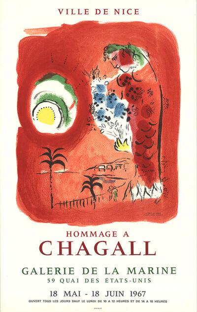 Marc Chagall, 'Ville De Nice', 1967
