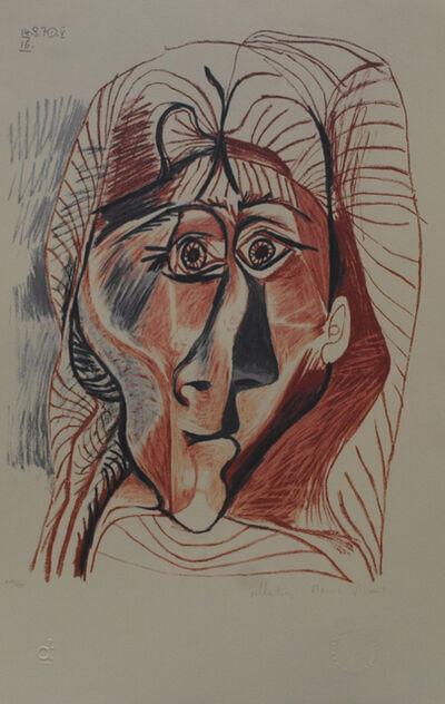 Pablo Picasso, 'Visage de Femme de Face', 1979-1981