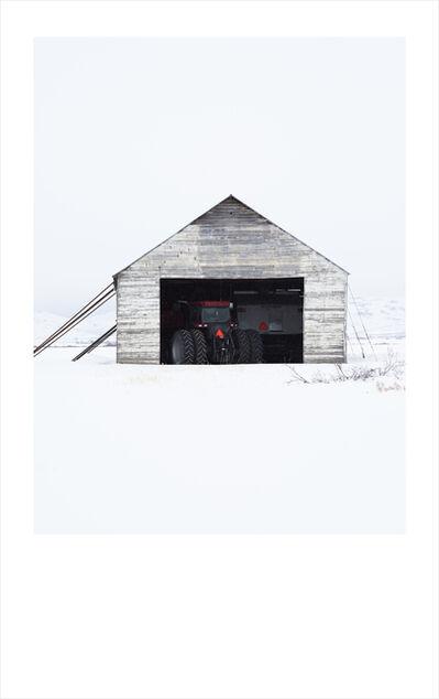 Wendel Wirth, 'White Barn I', 2018