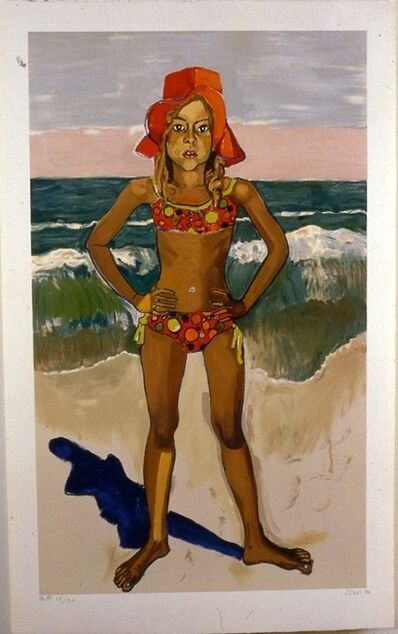 Alice Neel, 'Olivia and The Red Hat', 1982