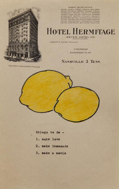 Jow, 'Lemons', 2012