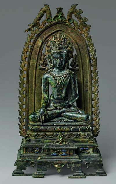 'Crowned Buddha', 10th-11th century