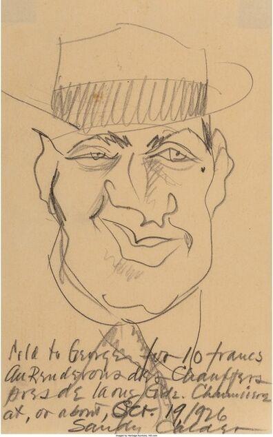 Alexander Calder, 'Portrait of George Seldes', 1926