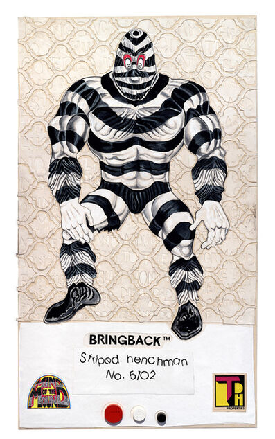 Trenton Doyle Hancock, '8 Back Icon Series: Bringback – Striped Henchman, No.5102', 2016