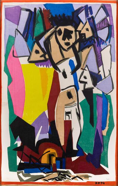 """Miguel Ángel Pareja, '""""Figuración""""', 1974"""