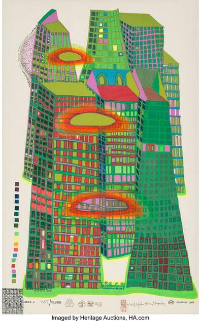 Friedensreich Hundertwasser, 'Good Morning City', 1969-70