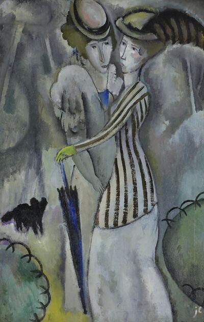 Jean Lurçat, 'Promenade au Parc', 1920
