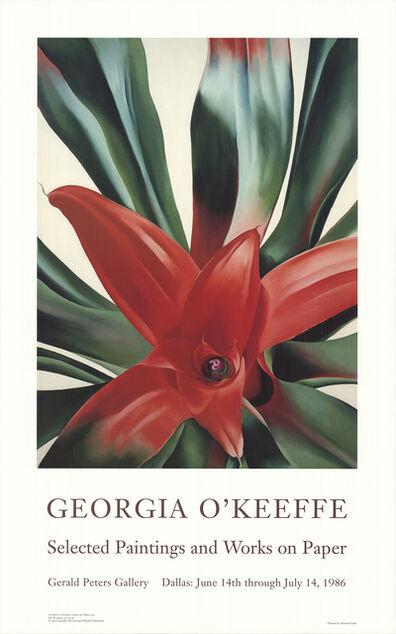 Georgia O'Keeffe, 'Leaves of a Plant', 1998