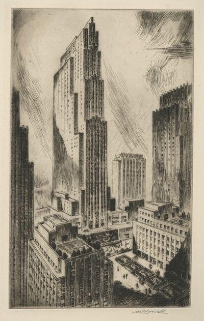 Nat Lowell, 'Rockefeller Center', 1948