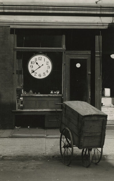 Berenice Abbott, 'Repair Shop, Christopher Street, New York', 1948-1950