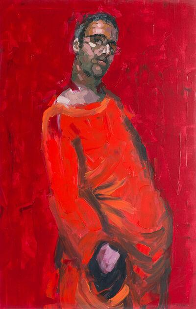 Adrian Socorro, 'El hombre de rojo / The man in red', 2019