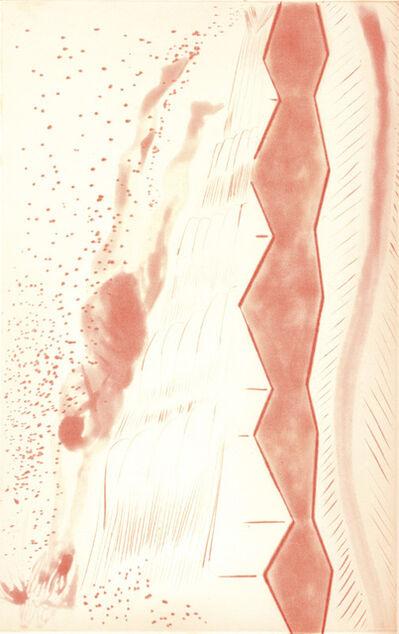 Chris Ofili, 'Rainbow - Orange Ramo', 2008