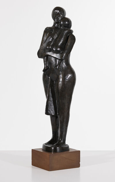 Elizabeth Catlett, 'Standing Mother and Child', 1980