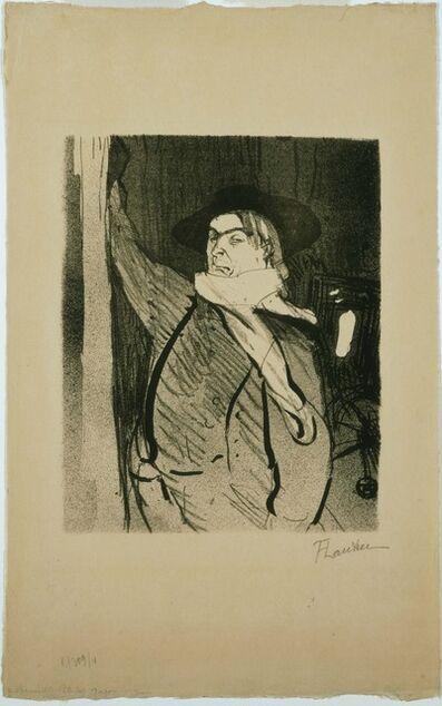 Henri de Toulouse-Lautrec, 'Aristide Bruant', 1893