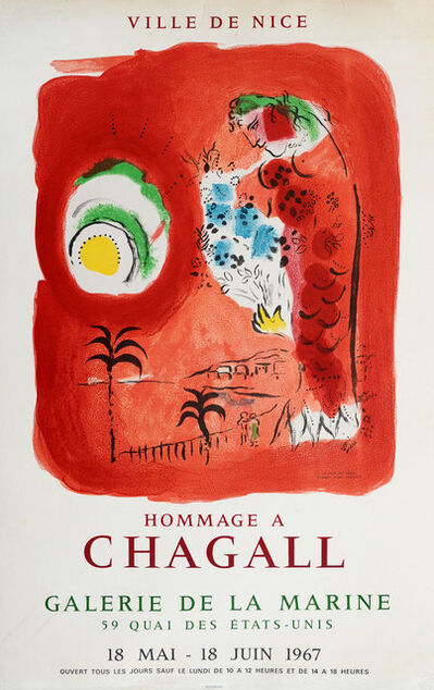 Marc Chagall, 'Hommage A Chagall', 1967